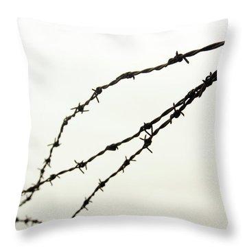Restricted Throw Pillow by Kaleidoscopik Photography