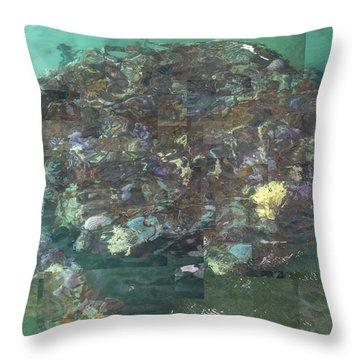 Resurrection - Uss Arizona Memorial Throw Pillow