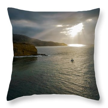 Retire Into Yourself Photography By Denise Dube Throw Pillow