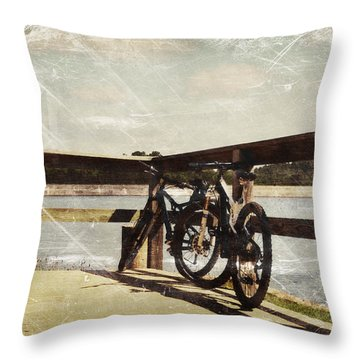 Retirement Life Throw Pillow by Davina Washington