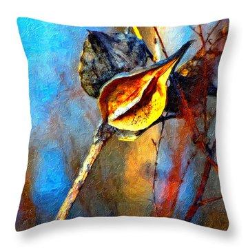 Retirement Painted Version Throw Pillow by Steve Harrington