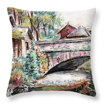 Retreat At Grassmere Throw Pillow