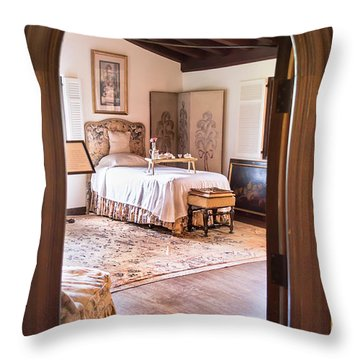 Retreat To The Past Throw Pillow
