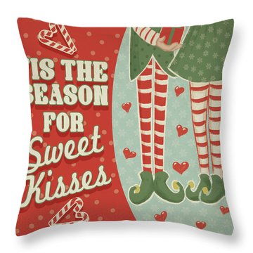 Christmas Elf Throw Pillows