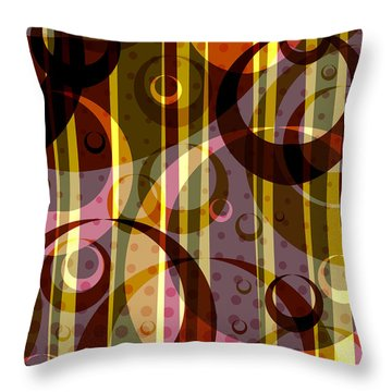 Retrohoops011211 Throw Pillow by Matt Lindley