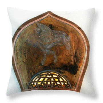 Return Of The Mesenger Throw Pillow