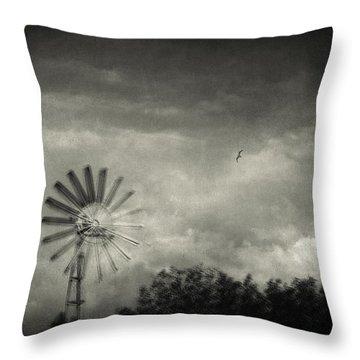 Return Throw Pillow by Taylan Apukovska