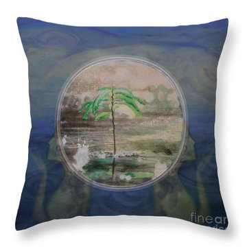 Return To A Half Remembered Dream Throw Pillow