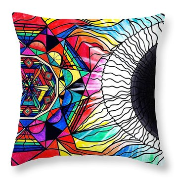Return To Source Throw Pillow by Teal Eye  Print Store
