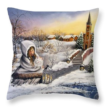 Return Throw Pillow