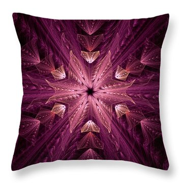 Throw Pillow featuring the digital art Returning Home by GJ Blackman