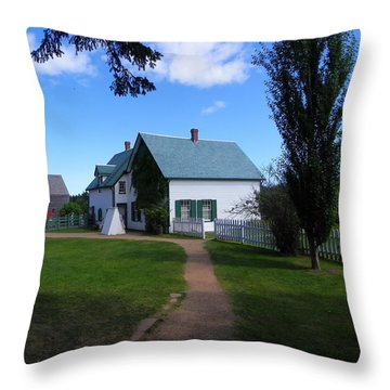 Returning To Green Gables Throw Pillow