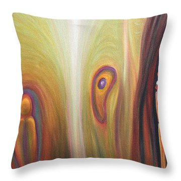 Returning To The Source Throw Pillow