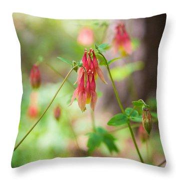 Retzer Dicentra Formosa Couple Throw Pillow