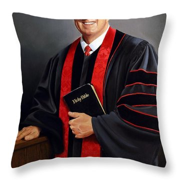 Rev Guy Whitney Throw Pillow