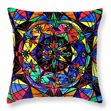 Reveal The Mystery Throw Pillow by Teal Eye  Print Store