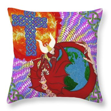 Revelation 12 Throw Pillow