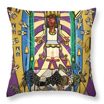 Revelation Chapter 4 Throw Pillow