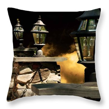 Revelations Inspired By Revelations 2 3 Throw Pillow