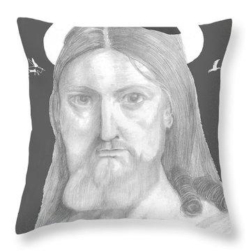 Revelations Throw Pillow