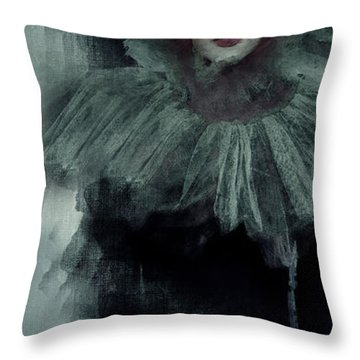 Throw Pillow featuring the digital art Revenant Shade by Galen Valle