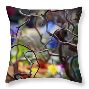 Reverie Throw Pillow by Jaki Miller