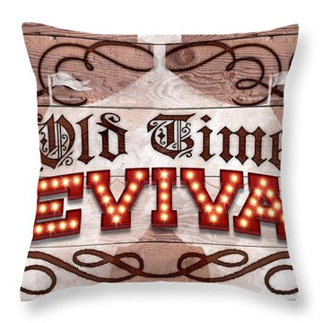 Revival I Throw Pillow