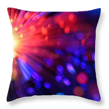 Revolution Throw Pillow by Dazzle Zazz