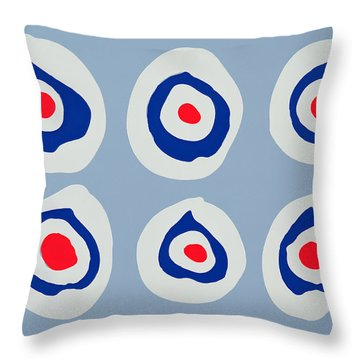 Revolver Throw Pillow by Colin Booth