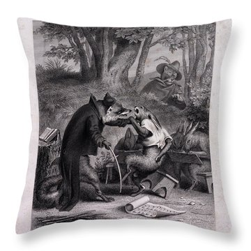 Reynard Throw Pillows