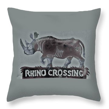 Rhino Xiv Throw Pillow