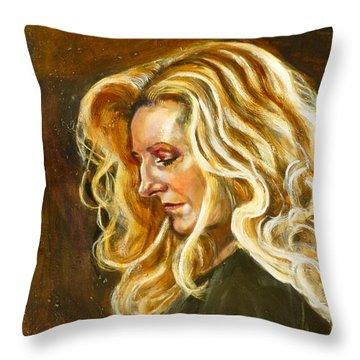 Rhoda Throw Pillow by Renuka Pillai