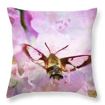 Rhododendron Dreams Throw Pillow