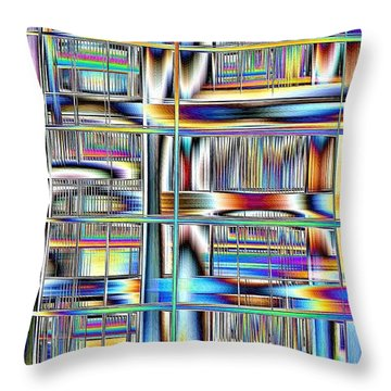 Rhyme And Reason Throw Pillow