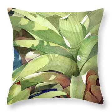 Rhythm And Blues Throw Pillow by Kris Parins