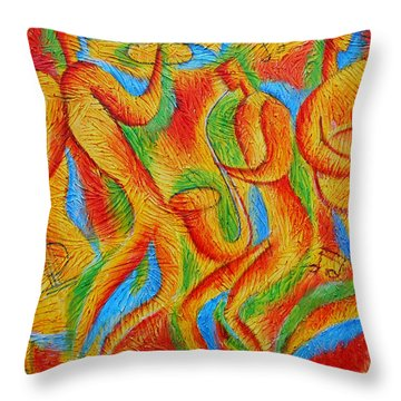 Jewish Music Throw Pillows