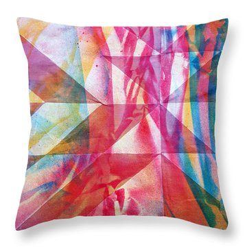 Rhythm And Flow Throw Pillow