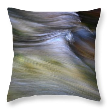 Rhythm Of The River Throw Pillow