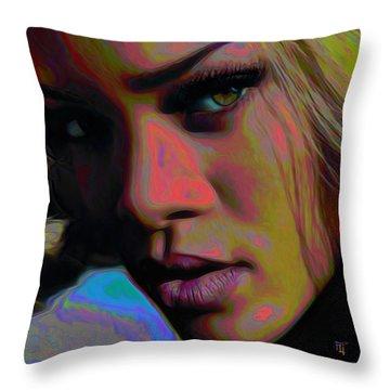 Ri Ri Throw Pillow