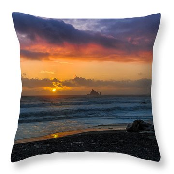 Rialto Sunset Throw Pillow