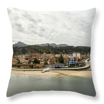 Ribadesella Throw Pillow by For Ninety One Days
