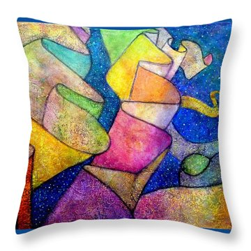 A Ribbon In The Sky For Our Love Throw Pillow