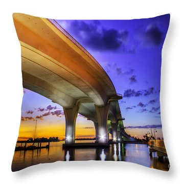 Ribbon In The Sky Throw Pillow