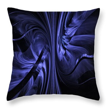 Ribbons Of Time Throw Pillow