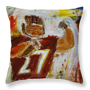 Rice Touchdown Throw Pillow
