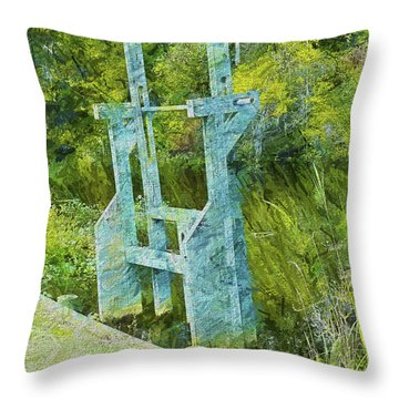 Rice Trunk - Faux Painting Throw Pillow