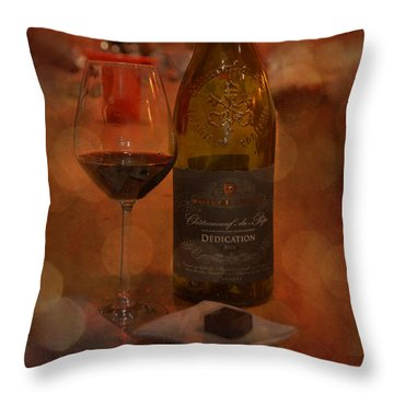 Rich And Luscious Throw Pillow by Carla Parris