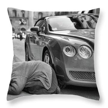 Money Throw Pillows