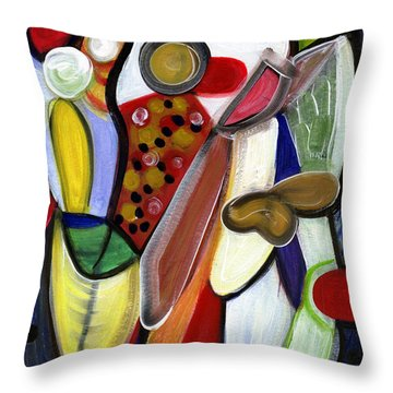 Rich In Character Throw Pillow
