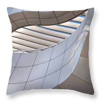 Richard Meier's Getty Architecture IIi Throw Pillow
